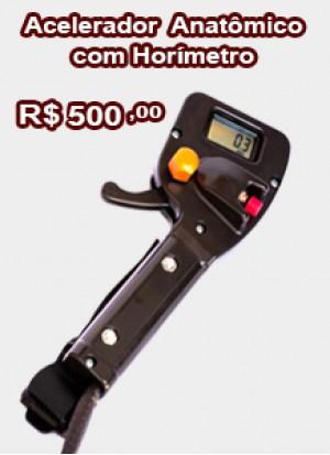 Acelerador Anatômico com Horímetro